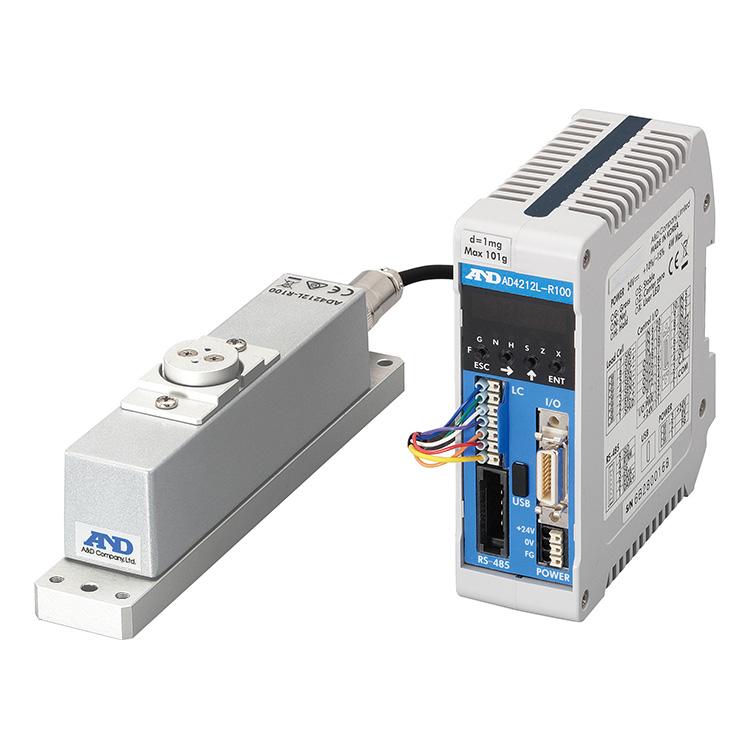 生産ライン組込み用 高精度計量センサー AD-4212L