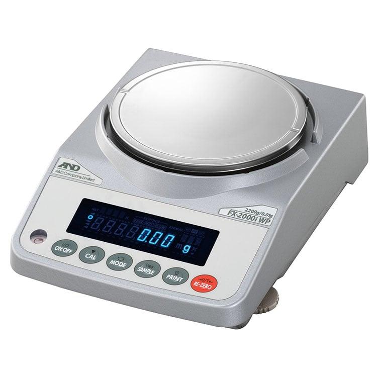 防塵・防水型電子天びん FX-iWPシリーズ