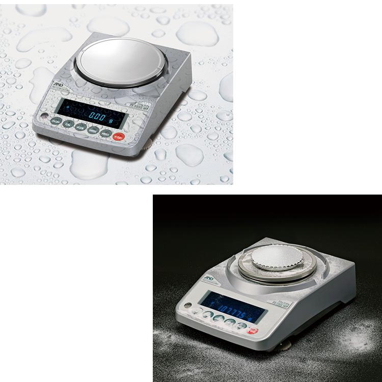 分銅内蔵型防塵・防水型電子天びん FZ-iWPシリーズ 画像