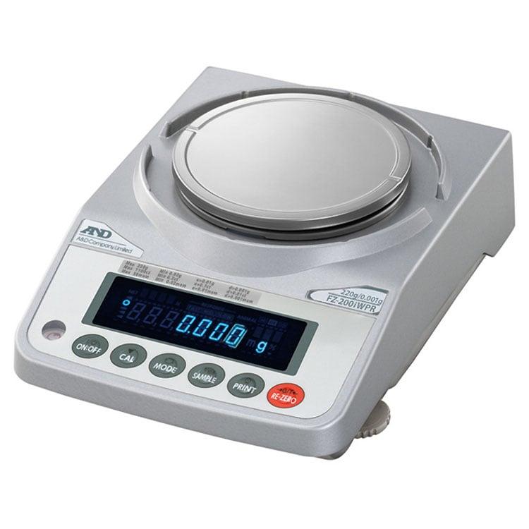 検定付きはかり 校正用分銅内蔵型防塵・防水型電子天びん FZ-iWPRシリーズ