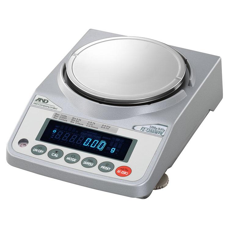 検定付きはかり 分銅内蔵型防塵・防水型電子天びん FZ-iWPRシリーズ 画像