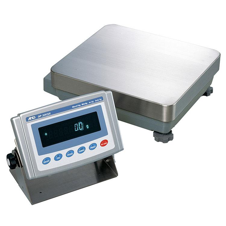 検定付きはかり 校正用分銅内蔵型重量級天びん GP-Rシリーズ 画像