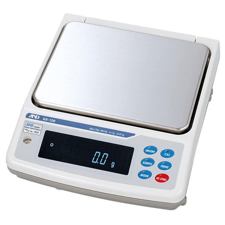 内置校准砝码型防尘/防水型中等重量天平GX-K系列图像