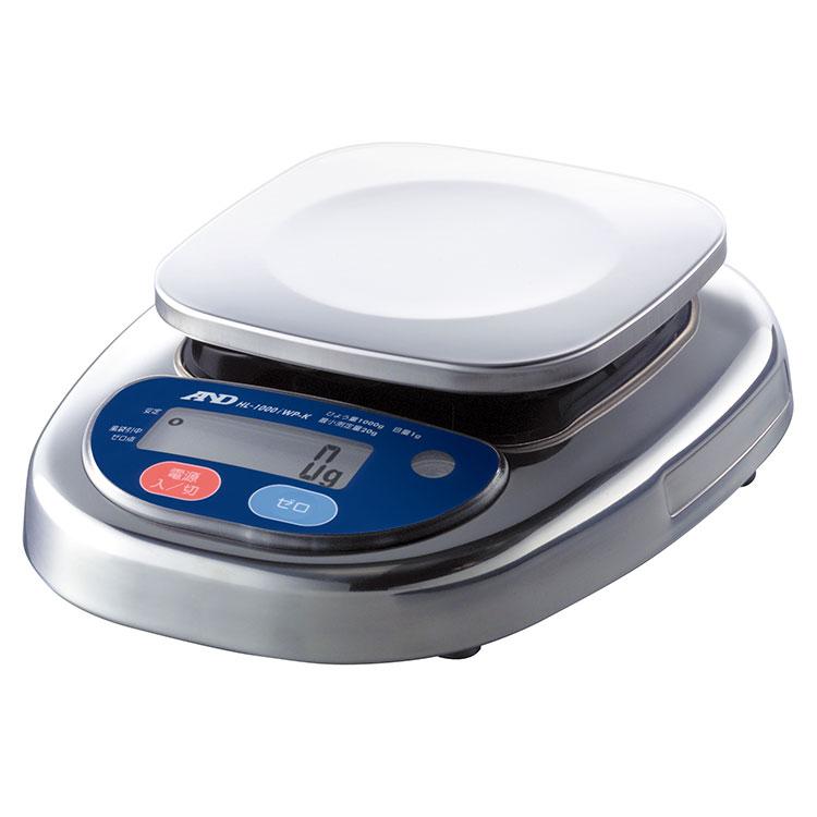 検定付きはかり 防塵・防水コンパクトスケール HL-iWP-Kシリーズ(ウォーターボーイ)