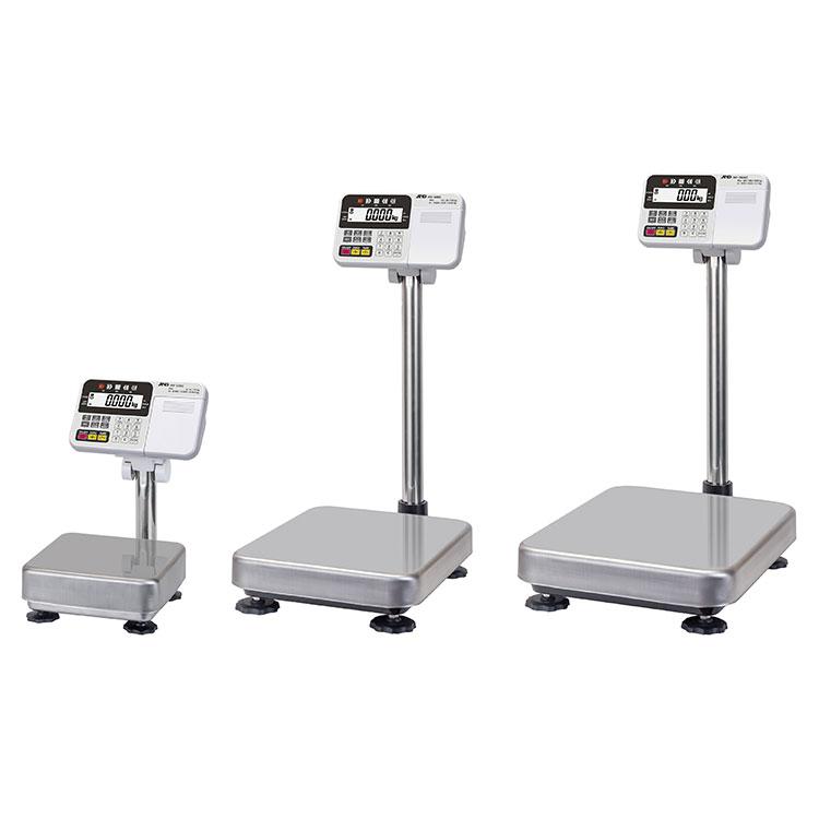 検定付きはかり 計量台 防塵・防水デジタル台はかりHV-C-K / HV-CP-Kシリーズ
