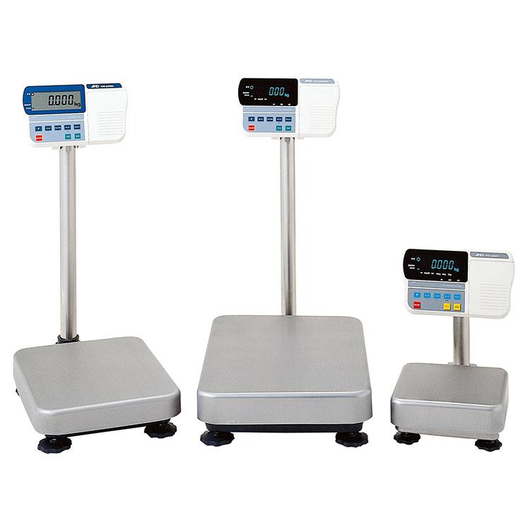 検定付きはかり 計量台 防塵・防水デジタル台はかりHV-G-Kシリーズ