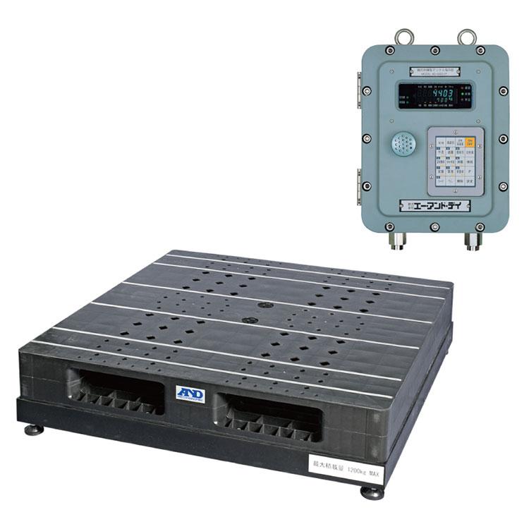 検定付きはかり パレット一体型デジタル台はかり SN-1200KFP-K