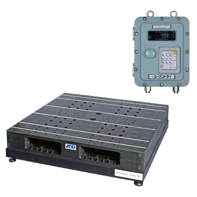 耐圧防爆構造 パレット一体型デジタル台はかり SN-1200KFP