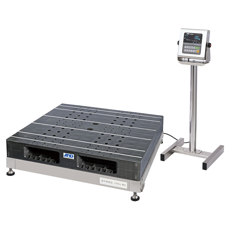 防塵・防水パレット一体型デジタル台はかり SN-1200KWP
