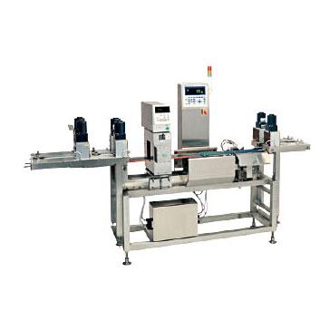 紙パック、デザート用 金属検出機付ウェイトチェッカ WIC-6401-2KMDWS