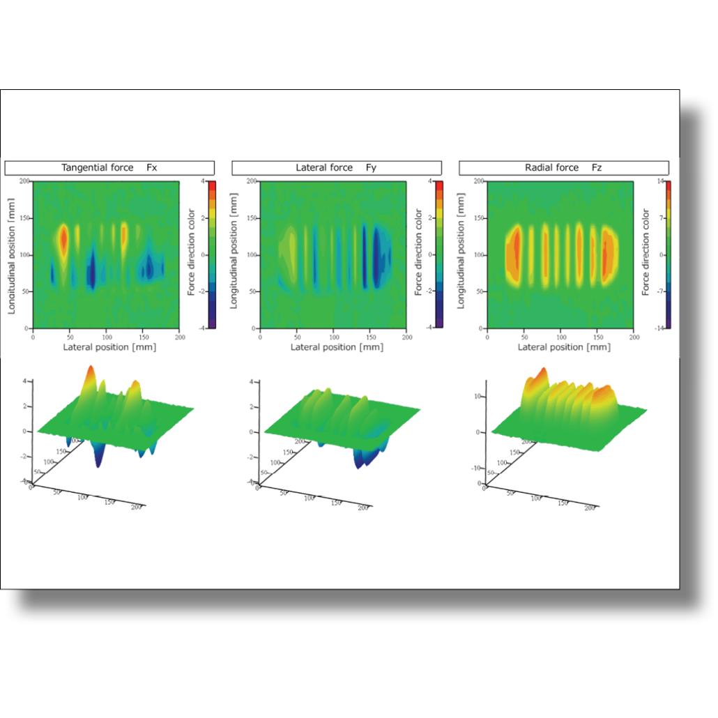 動的接地力試験機(DCFR: Dynamic Contact Force testing Rig) 画像
