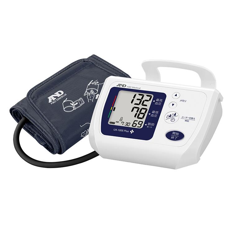 上腕式血圧計 UA-1005Plus(商品コード UA-1005C-JCB1)