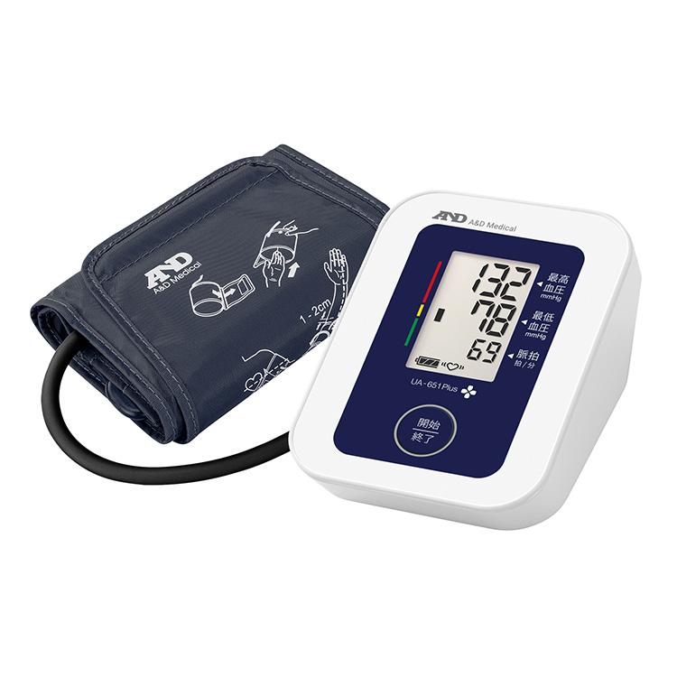上腕式血圧計 UA-651Plus(商品コード UA-656A-JCB1)