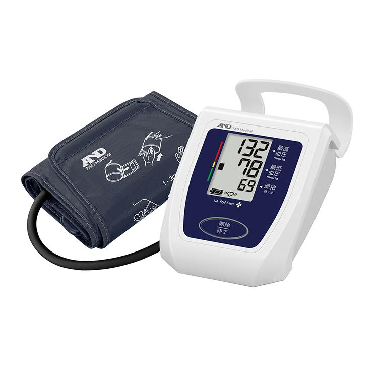 上腕式血圧計 UA-654Plus(商品コード UA-654B-JCB1)