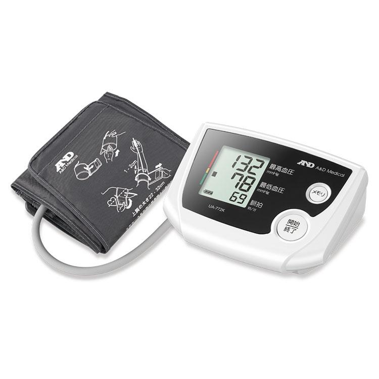 上腕式血圧計 UA-772K(シンプル血圧計)