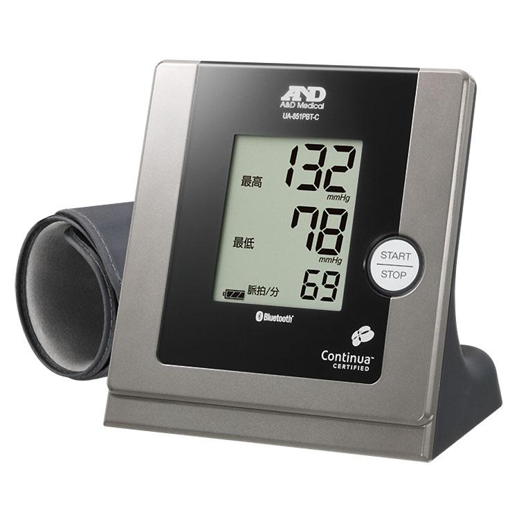 Bluetooth内蔵 パーソナル血圧計 UA-851PBT-C