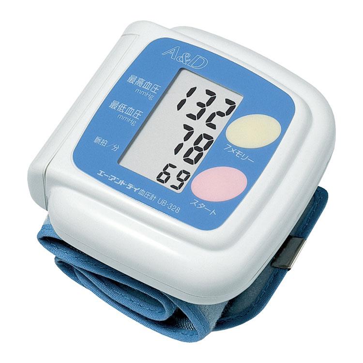 手首式血圧計 UB-328(おまかせ加圧 血圧計)