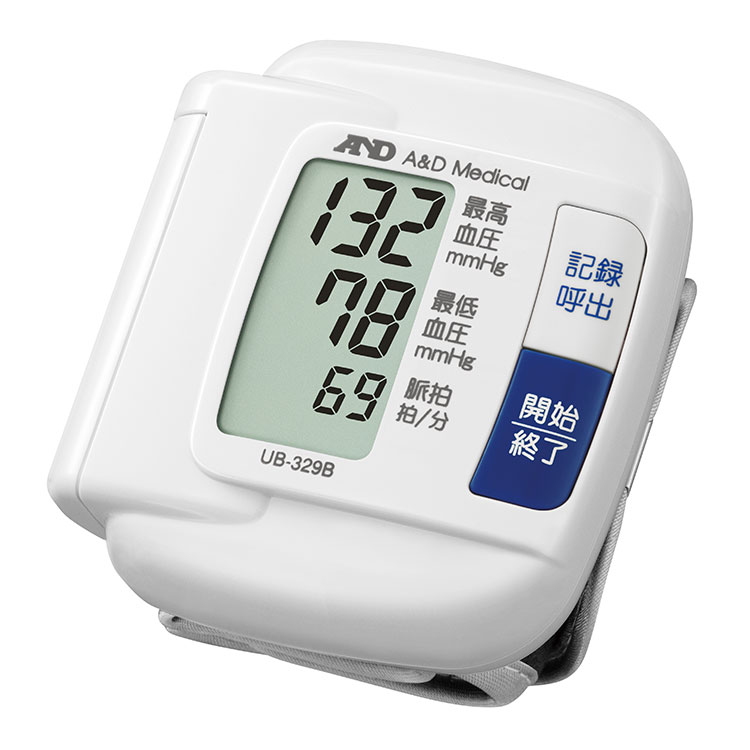 手首式血圧計 UB-329B(シンプル・血圧計)