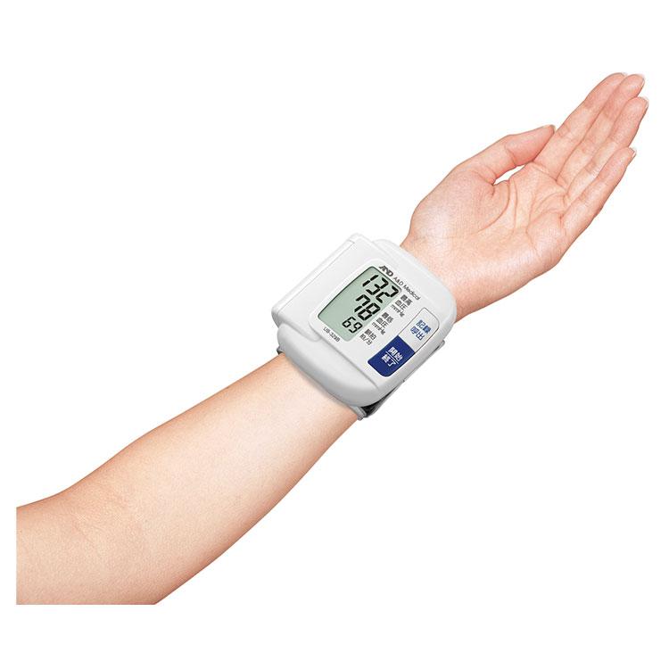 手首式血圧計 UB-329B(シンプル・血圧計) 画像