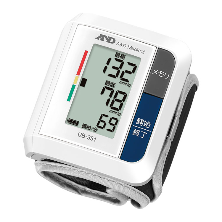 手首式血圧計 UB-351(ベーシック・血圧計)