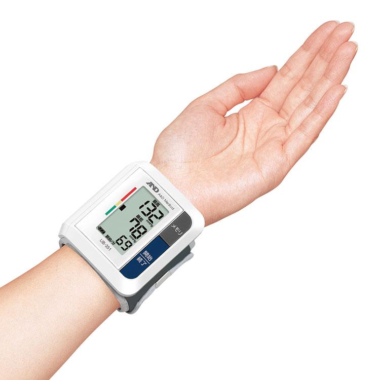 手首式血圧計 UB-351(ベーシック・血圧計) 画像