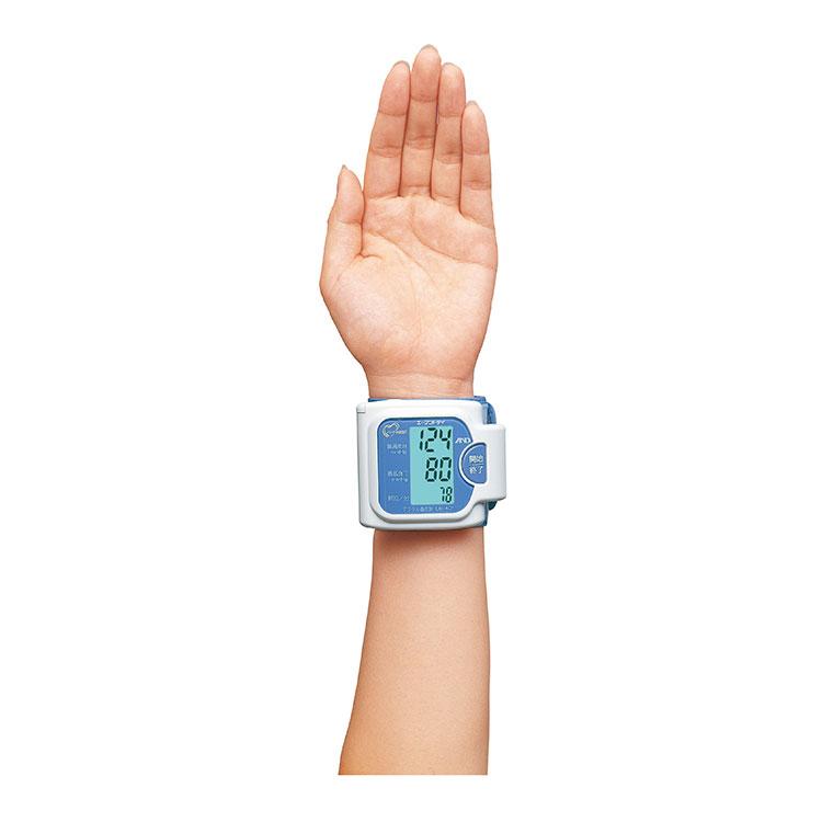 手首式血圧計 UB-401(光る表示・血圧計) 画像