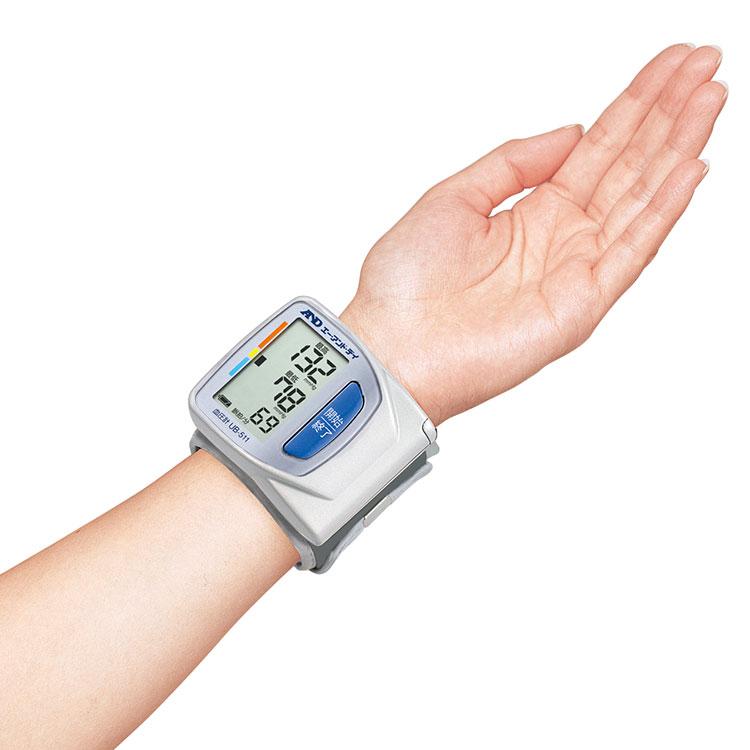 手首式血圧計 UB-511(スマート・血圧計) 画像