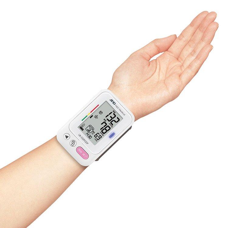 手首式血圧計 UB-533PGDP 画像