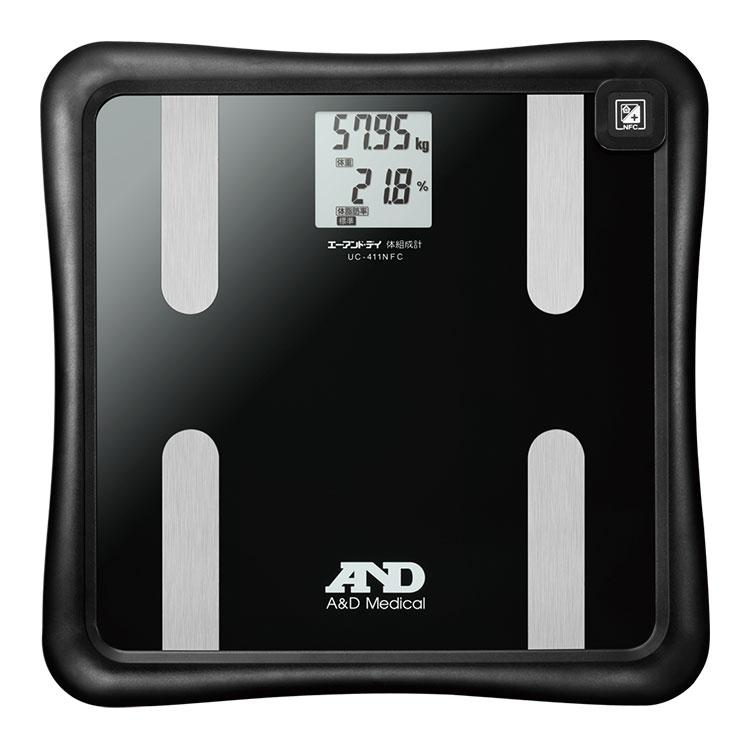 NFC通信機器付 体組成計 UC-411NFC