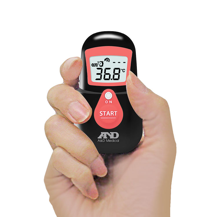 非接触体温計 でこピッと(UT-701)くまモンデザイン 画像
