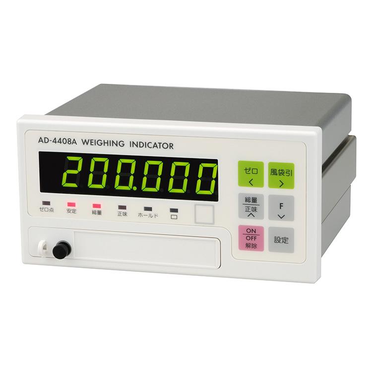フィールドネットワーク対応型ウェイングインジケータ AD-4408A