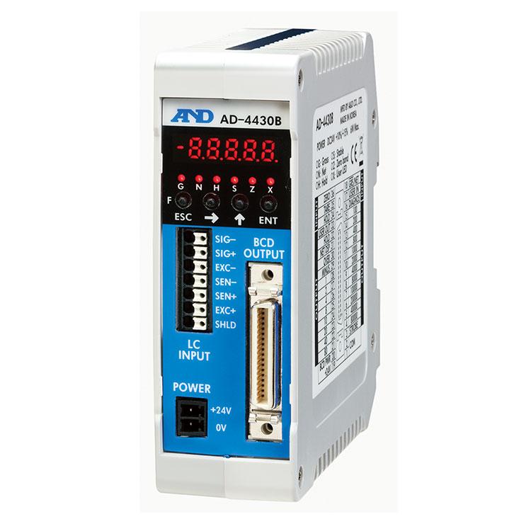 BCD出力標準装備・制御盤組み込みタイプ ウェイング・モジュール AD-4430B