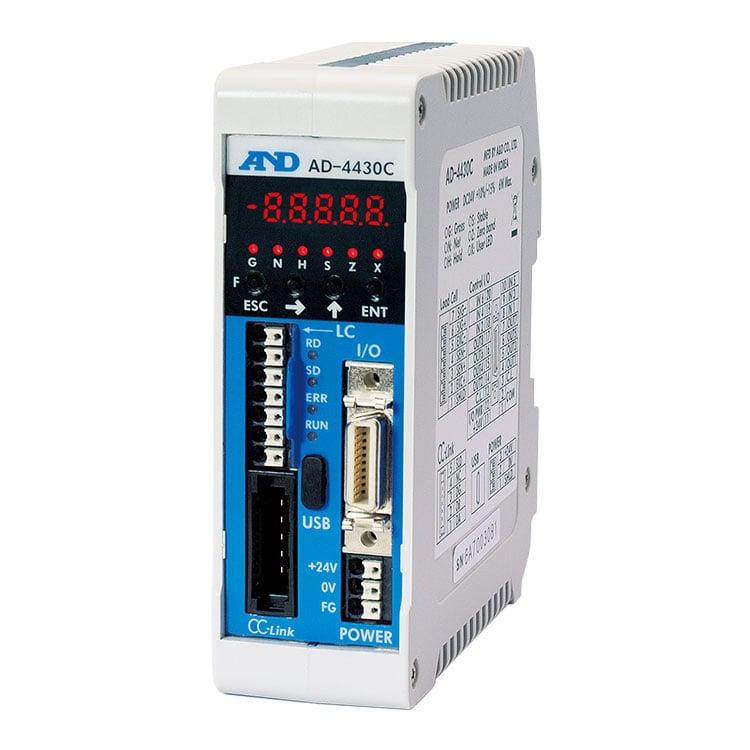 CC-Link搭載・制御盤組み込みタイプ ウェイング・モジュール AD-4430C