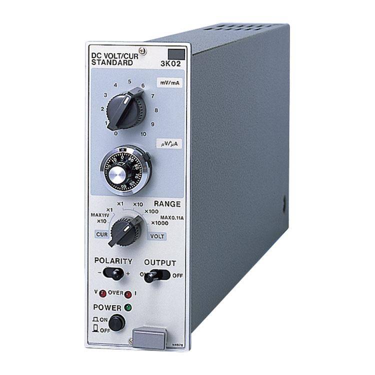 シグナルコンディショナ 直流標準電圧電流発生器 3K02