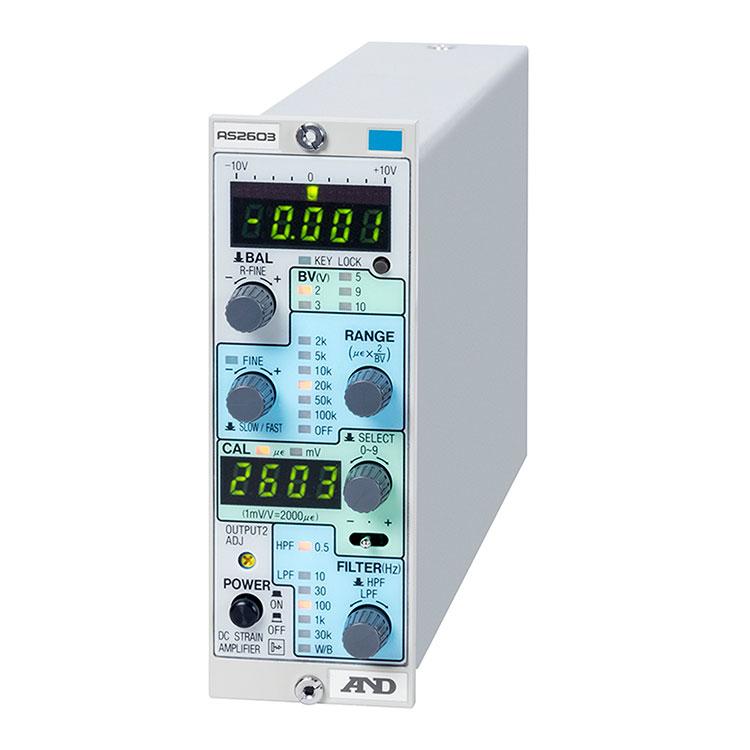 ストレンアンプ DCブリッジ方式 アイソレーションタイプ AS2603