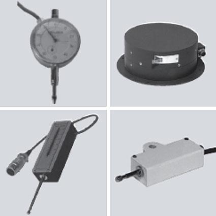 センサー ひずみゲージ変位変換器