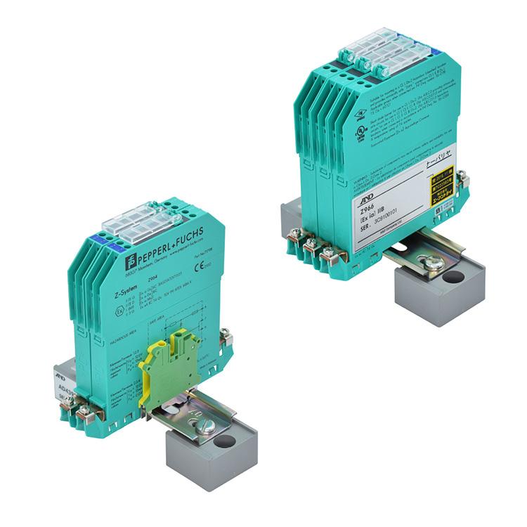 本質安全防爆型ツェナーバリヤ<br>AD-4392-2R2 / AD-4392-2R3 / AD-4392-2R4 (4線式 : 接続箱 無し)<br>AD-4392-3R2 / AD-4392-3R3 / AD-4392-3R4 (6線式 : 接続箱 有り)