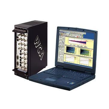 車載型リアルタイム振動・騒音解析システム 画像
