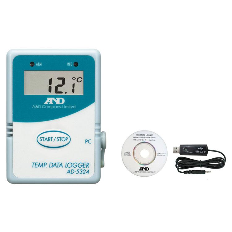 温度データロガー AD-5324SET / AD-5324