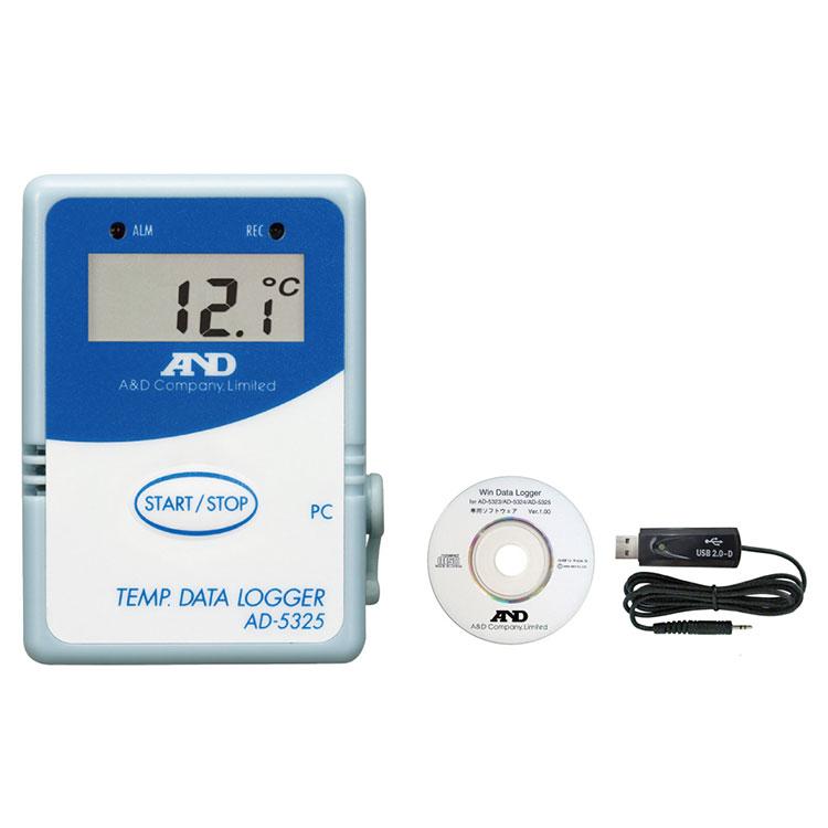 温度データロガー AD-5325SET / AD-5325