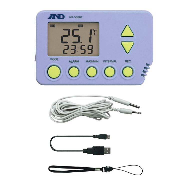 デジタル温度データロガー AD-5326TT / AD-5326T