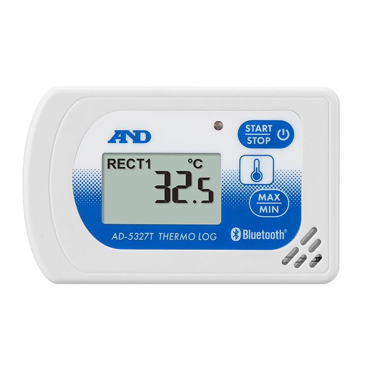 Bluetooth内蔵温度・湿度データロガー さーもろぐAD-5327シリーズ 画像