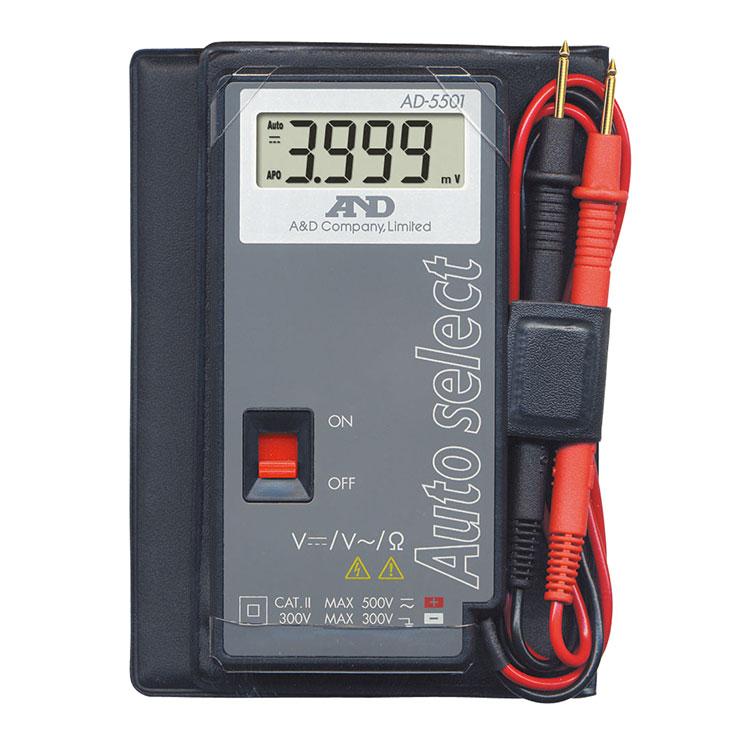 デジタルマルチメーター AD-5501