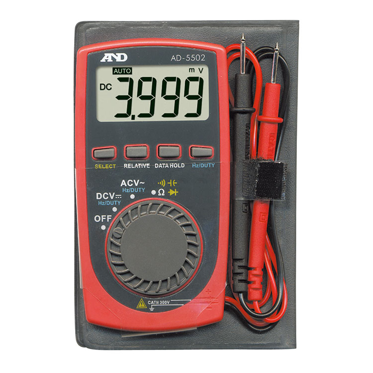 デジタルマルチメーター AD-5502