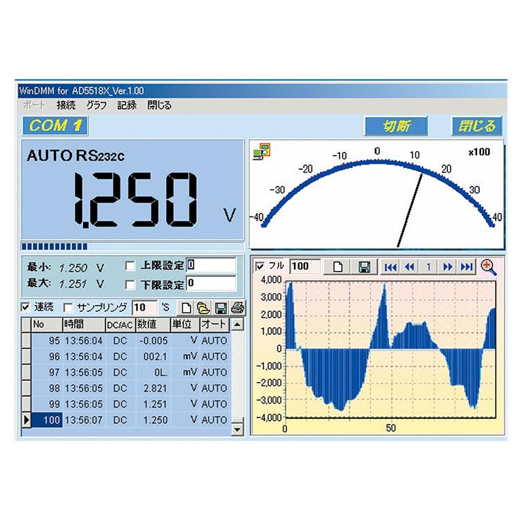 デジタルマルチメーター AD-5518 画像
