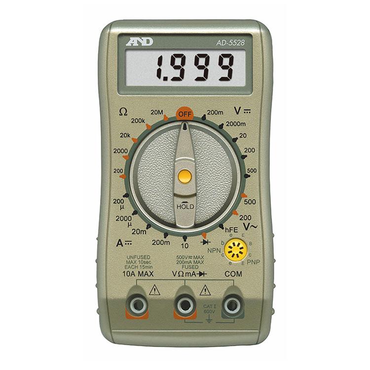 デジタルマルチメーター AD-5528