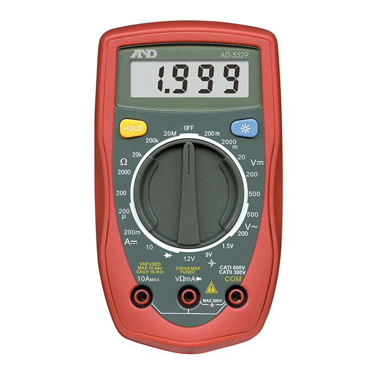 デジタルマルチメーター AD-5529