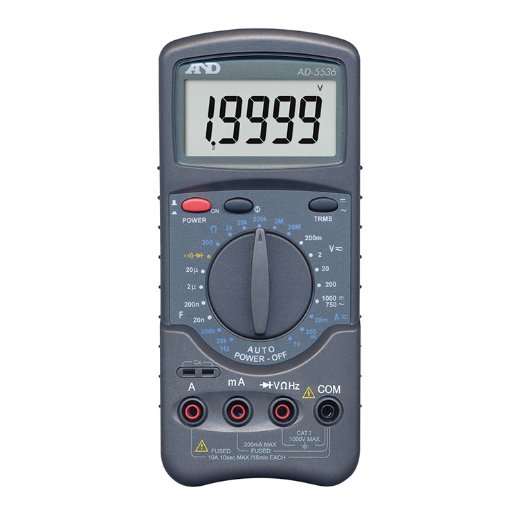 デジタルマルチメーター AD-5536
