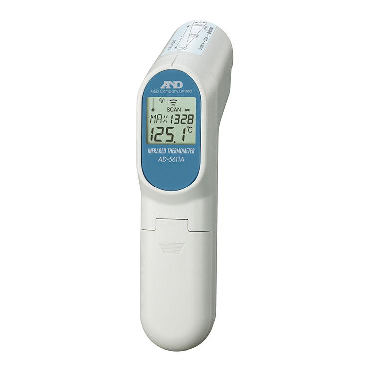 レーザーマーカー付き赤外線放射温度計 AD-5611A