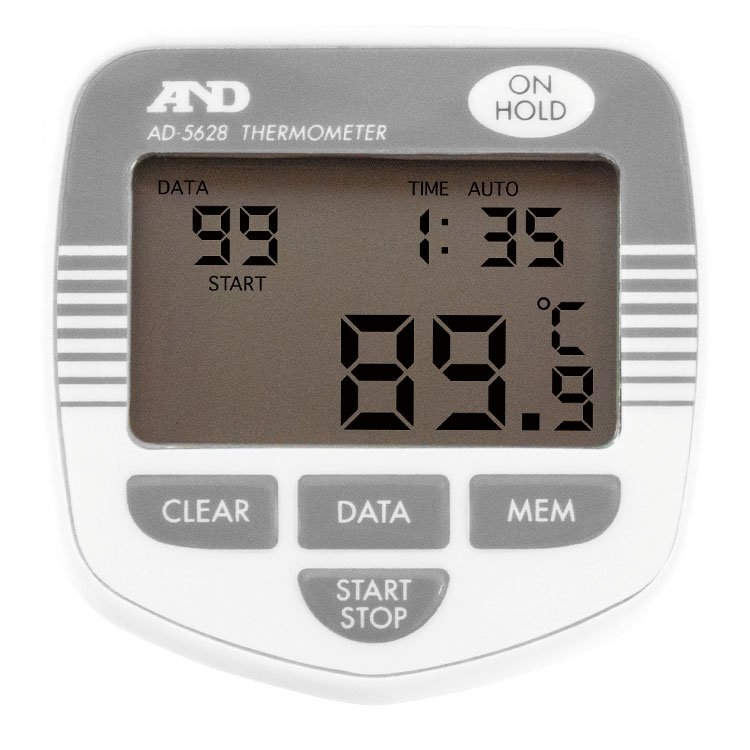防水形メモリー付き中心温度計 AD-5628 画像